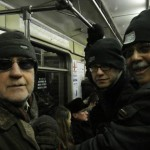 The Lee Konitz Trio on the subway in Moscow 2-17-08