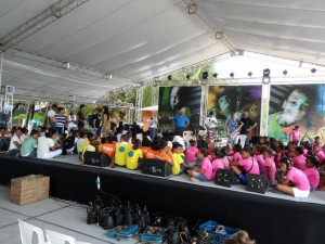 Clinic during Dominican Republic Jazz Festival, 2013